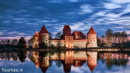 قلعه تراکای در لیتوانی