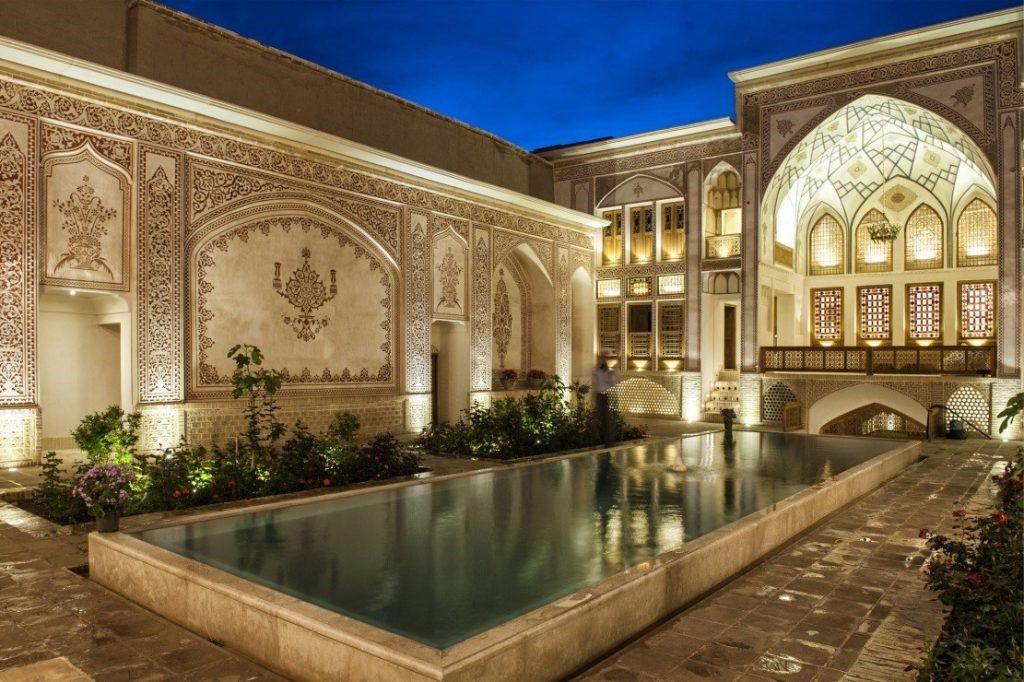 لوکس ترین خانه قدیمی ایران در کاشان